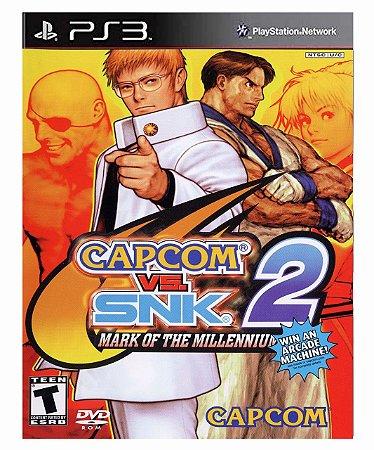 Capcom vs SNK 2 Mark of the Millennium 2001 (PS2 Classic) Ps3 Psn Mídia Digital
