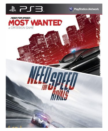 Combo Need For Speed Rivals + Need for speed most wanted Ps3 Mídia Digital