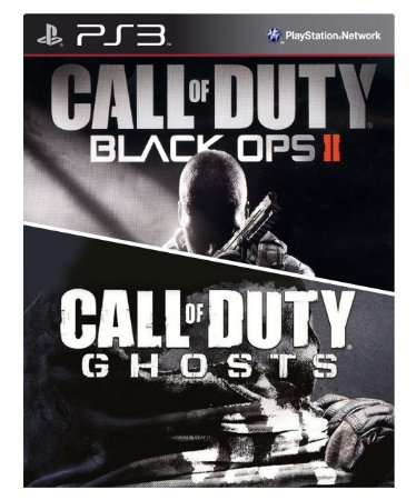 Combo Call of Duty Black OPS 2 + Call of duty Ghosts Ps3 MídiaDigital