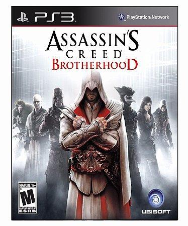 Assassin's Creed Brotherhood Ps3 Psn Mídia