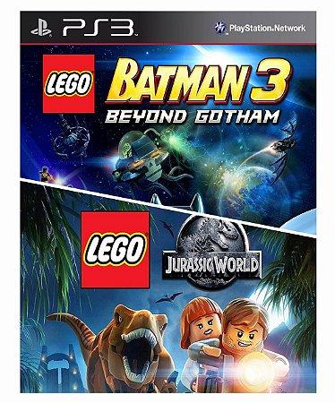 Combo Lego Batman 3 + Lego Jurassic World Ps3 Mídia Digital