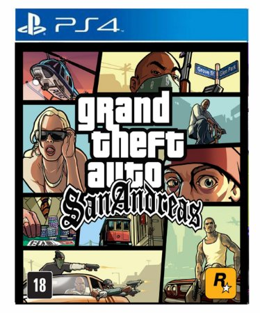 Gta San andreas- ps4 psn midia digital