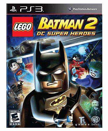 LEGO Batman 2: DC Super Heroes  Ps3 Psn Mídia Digital