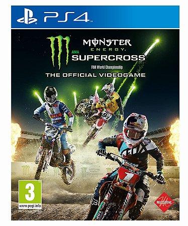 Monster Energy Supercross The Official Videogame Ps4 Psn Mídia Digital