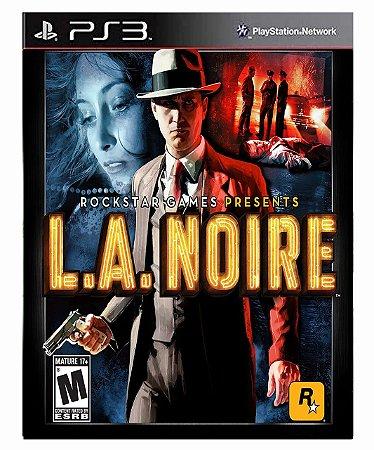 L.A. Noire  Ps3 Psn Mídia Digital