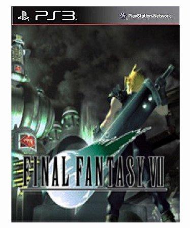FINAL FANTASY VII (PSOne Classic) Ps3 Psn Mídia Digital