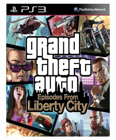 Grand Theft Auto Episodes from Liberty City-ps3 midia digital