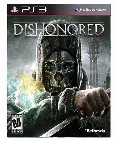 Dishonored ps3 psn midia digital