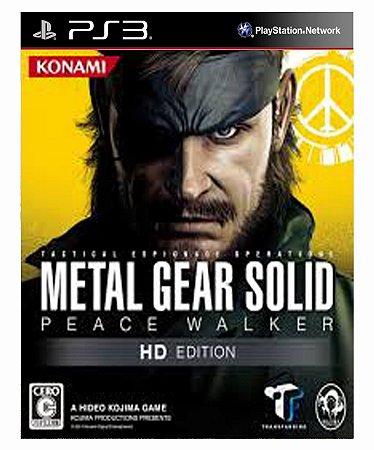 Metal Gear solid peace walker hd edition- ps3 midia digital