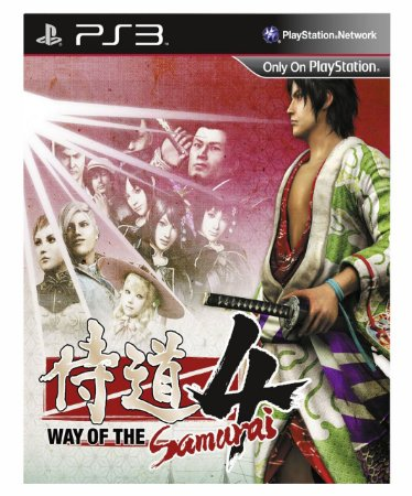WAY OF THE SAMURAI 4 Ps3 Psn Mídia Digital