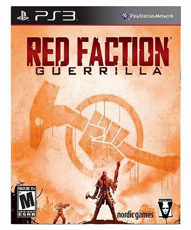 Red Faction Guerrilla Ps3 Psn Mídia Digital
