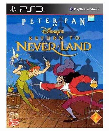 Disneys Peter Pan Return to Never Land (PSOne Classic) Ps3 Psn Mídia Digital