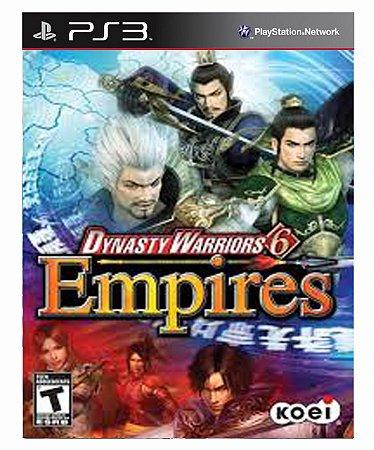 Dynasty Warriors 6 Empires Ps3 Psn Mídia Digital