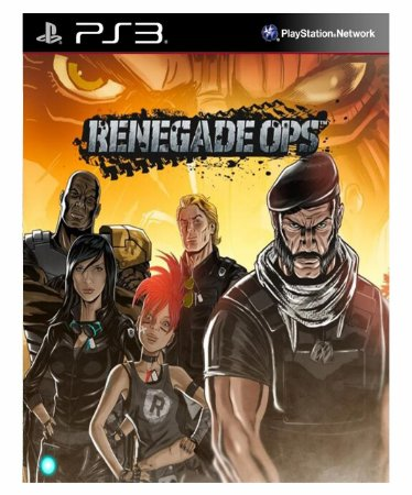 Renegade Ops Ps3 Psn  Psn Mídia Digital