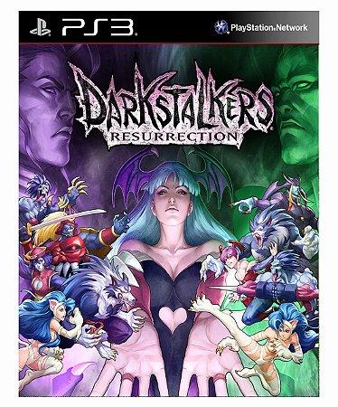Darkstalkers Resurrection  Ps3 Psn Mídia Digital