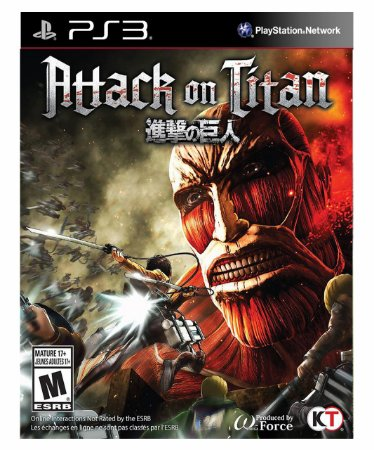 Attack on Titan  Ps3 Psn Mídia Digital