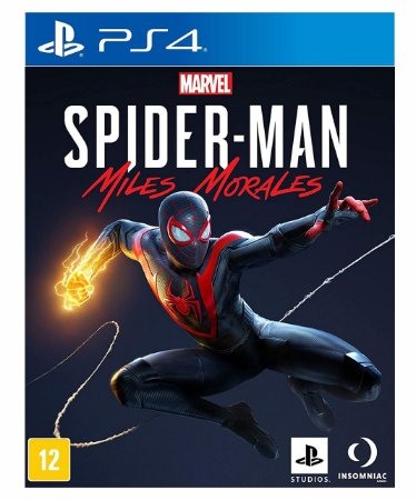Marvels SpiderMan Miles Morales Ps4 Psn  Mídia Digital