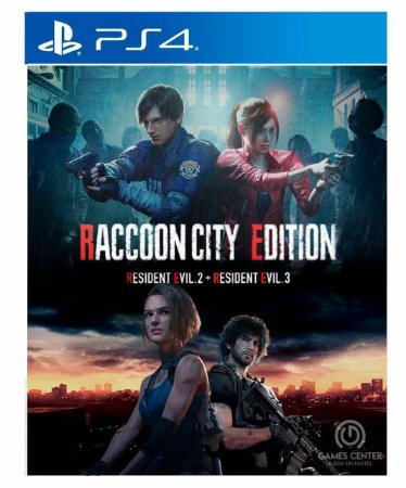 RACCOON CITY EDITION Ps4 Psn Mídia Digital