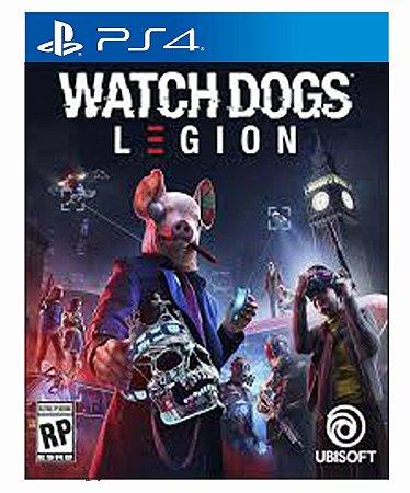 Watch Dogs Legion Ps4 Psn Mídia Digital