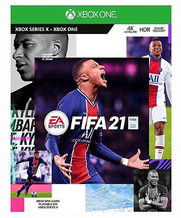 Fifa 21 portugues BR Xbox One  Mídia Digital