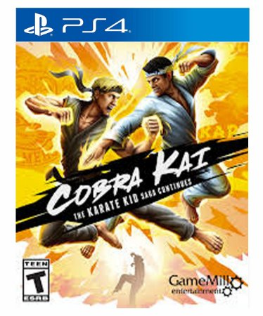 Cobra Kai The Karate Kid Saga Continues  Ps4 Psn Mídia Digital