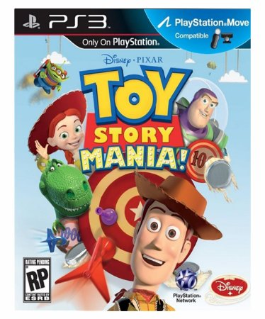 Toy Story Mania PS3 Psn Mídia Digital