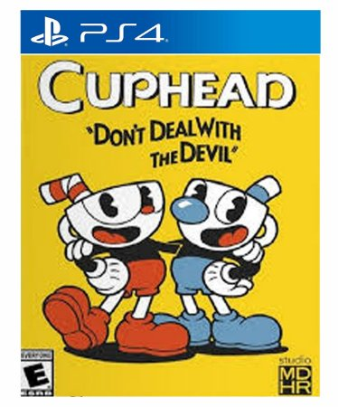 Cuphead  Ps4 Psn Mídia Digital