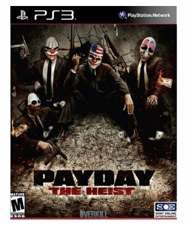 PAYDAY The Heist  Ps3 Psn Mídia Digital