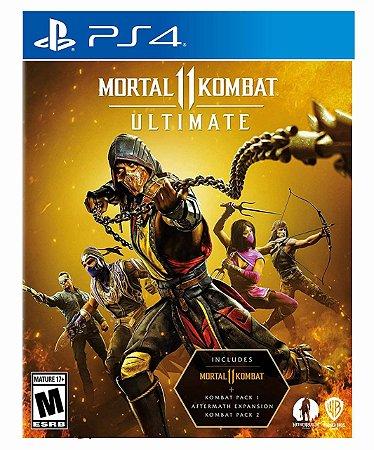 Mortal Kombat 11 Ultimate Ps4 psn midia digital
