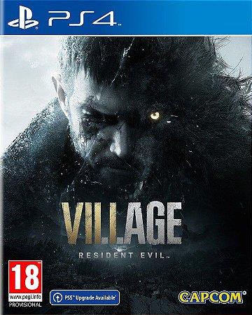 Resident evil Village PS4 E PS5 midia Digital