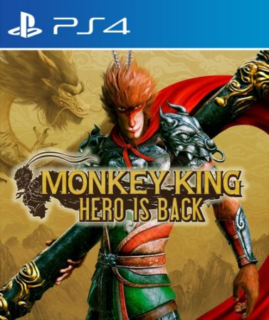 Monkey king: hero is back PS4 e PS5 midia digital