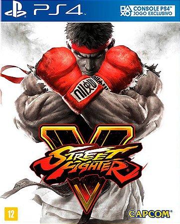 Street fighter V ps4 e ps5 midia digital