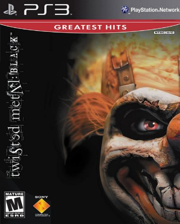 Twisted metal black- psone classic PS3 midia digital
