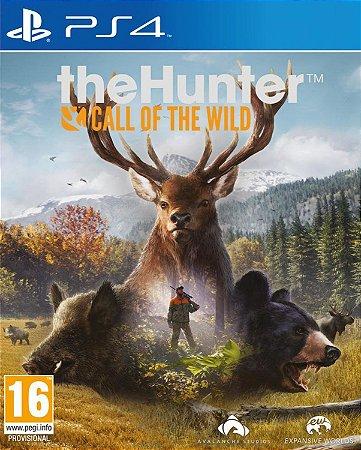The hunter call of the wild PS4 Midia digital PSN