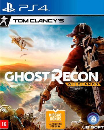 Tom clancy ghost recon Wildlands Gold Edition ps4 psn midia digital