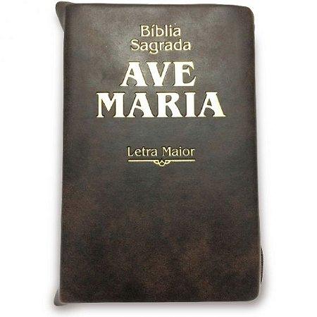Bíblia Sagrada Ave Maria - Letra Maior