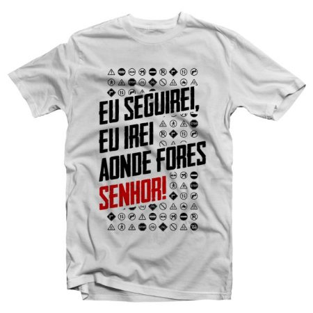 Camiseta Eu Seguirei
