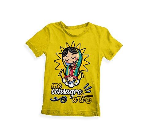 Camiseta Infantil Me Consagro a Ti