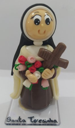 Santa Terezinha em Biscuit