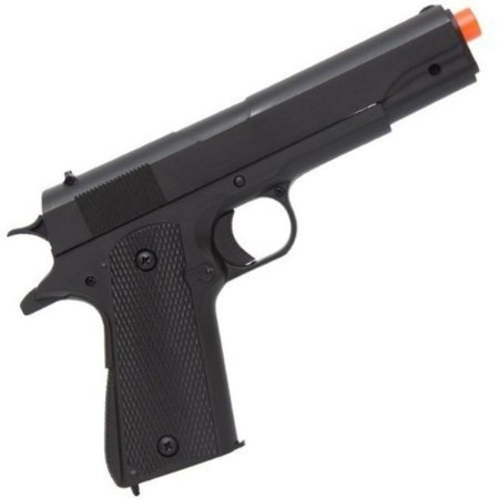 AIRSOFT EM ABS MANUAL MD M292P PST 1911 PRETA CAL 6MM DOUBLE EAGLE