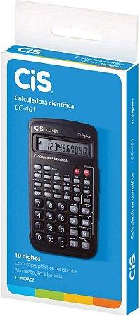 Calculadora Científica C-401  Preta CIS