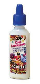 Cola Para Lantejoula Acrilex Transparente 20g