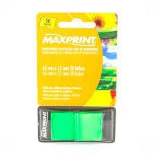 Marcador de Pagina pop-up Removivel 50fls Maxprint