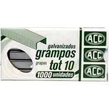 Grampo Tot-10 cx c/1000 Acc