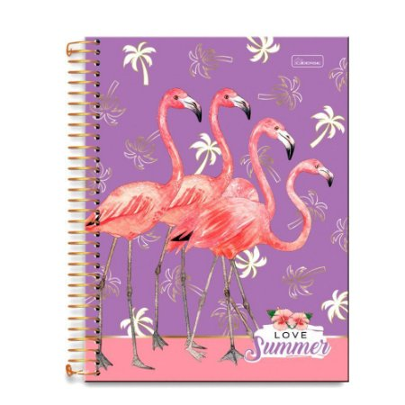 Caderno Universitário Love Summer 15 Mat 240 Fls Cadersil