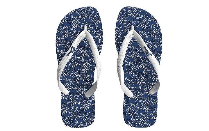 Coleção Corais - Masculina - Azul Marinho
