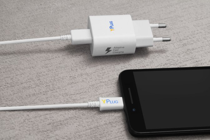 Cabo Carregador USB para Micro-USB (Android)