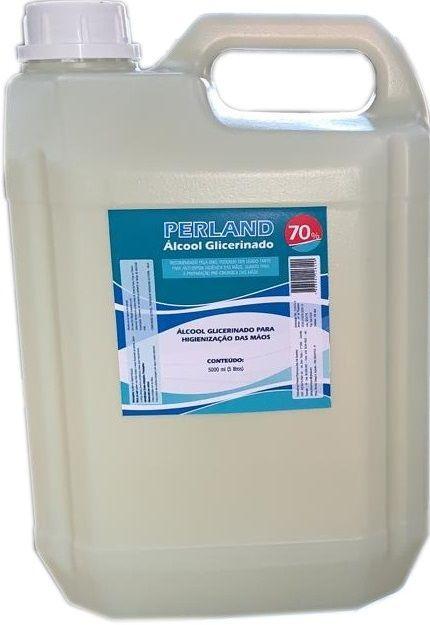 Álcool Gel 70% Glicerinado 5 Litros