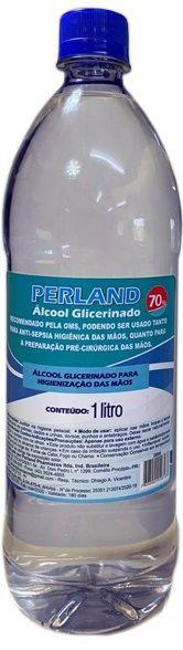Álcool Gel 70% Glicerinado 1 Litro