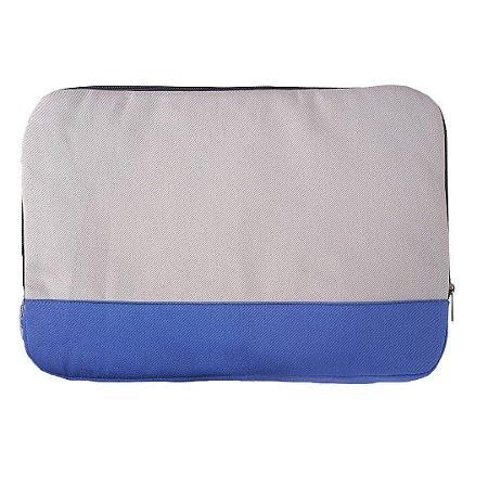 Capa de Notebook - Cinza Detalhe Azul